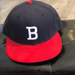 New Era Authentic Boston Braves fitted hat
